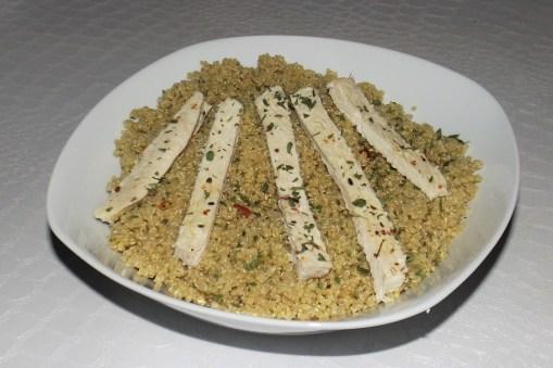 Taboulé de quinoa et poulet (de Laurent Mariotte)