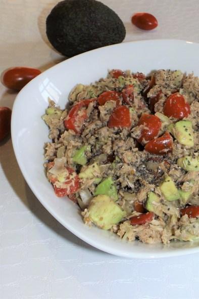 Salade Légère d'Avocat au Thon WW2