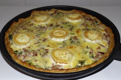 Tarte aux brocolis, aux lardons et au fromage de chèvre.jpg