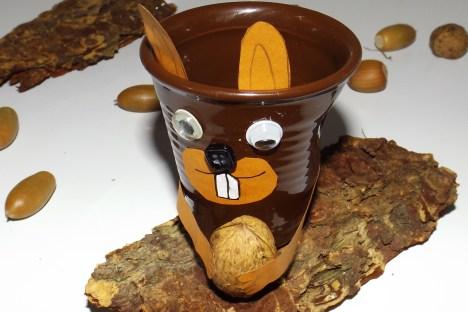 Tasses à café expresso froissé Ecureuil