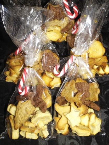 Comment faire un emballage pour sablés de Noël pas cher2
