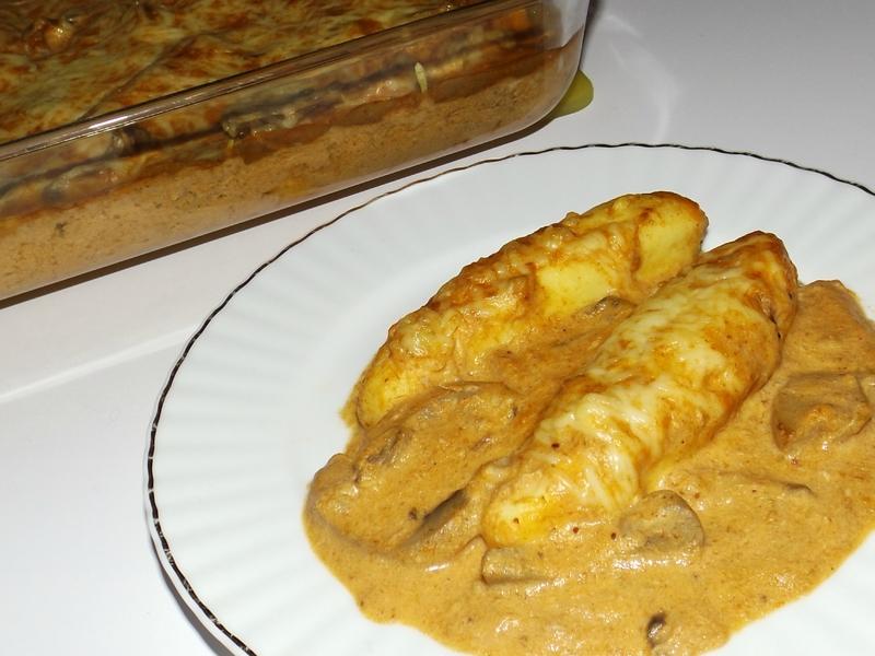 Gratin de quenelles au thon et à la bisque de homard.jpg