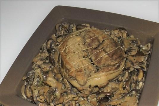 Rôti de veau aux champignons et au poivre de Sarawak (2)