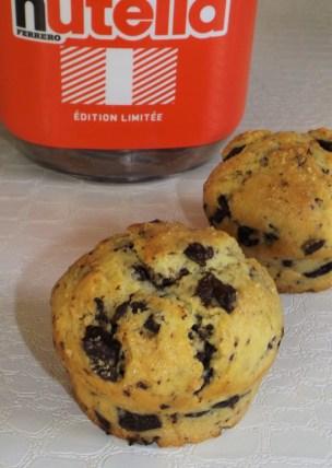 Muffins américains au coeur Nutella2