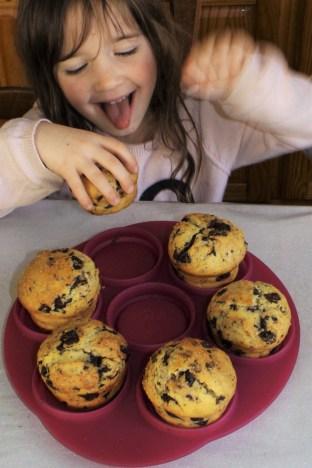 Muffins américains au coeur Nutella6