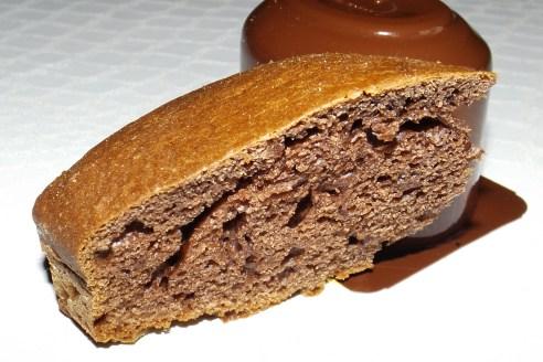 Gâteau Danette au chocolat noir (simple et rapide)2