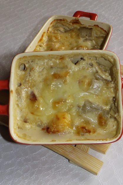 Blettes carbonara gratinés au jambon cru et au beaufort2