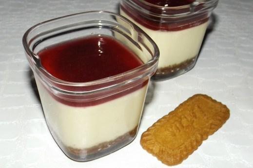 Cheesecake au coulis de fruits rouges (à la Multidélices)
