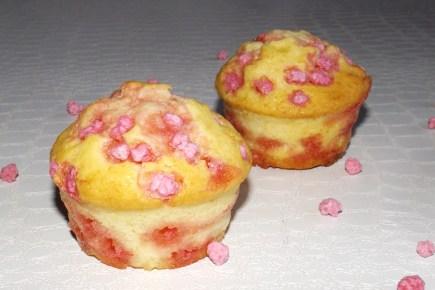 Muffins aux pralinettes