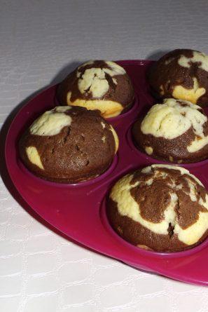 Muffins marbré chocolat et vanille4