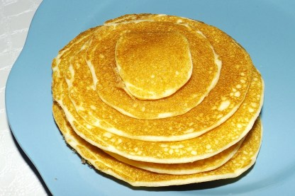 Pancakes sans gluten (recette Maïzena)