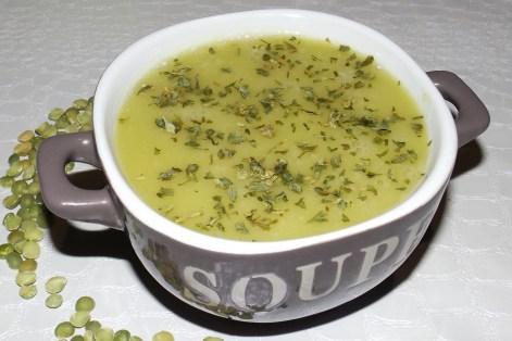 Soupe de pois cassés à la moutarde Savora