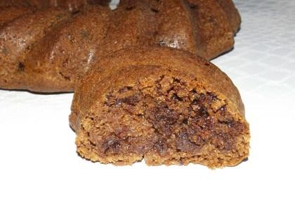 Gâteau au chocolat noir et au vinaigre blanc2