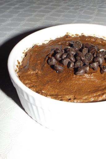 Mousse au chocolat et aux pépites de chocolat noir2