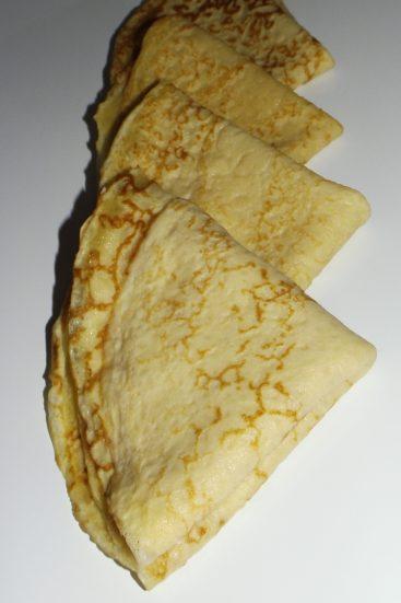 Crêpes aux jaunes d'oeufs2