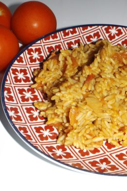 Riz pilaf tomates paprika2