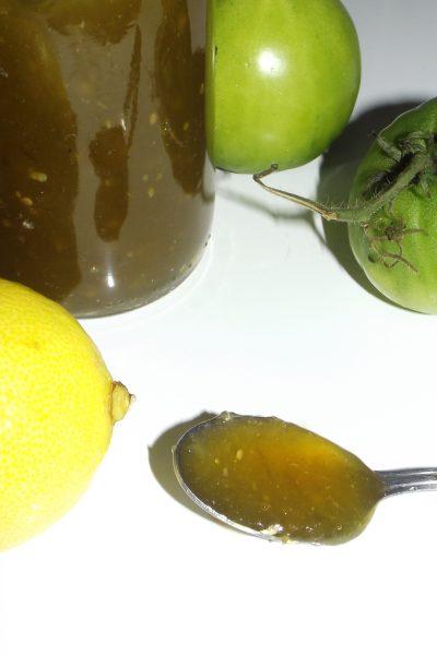Confiture de tomates vertes aux citrons2