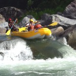Honduras white water rafting