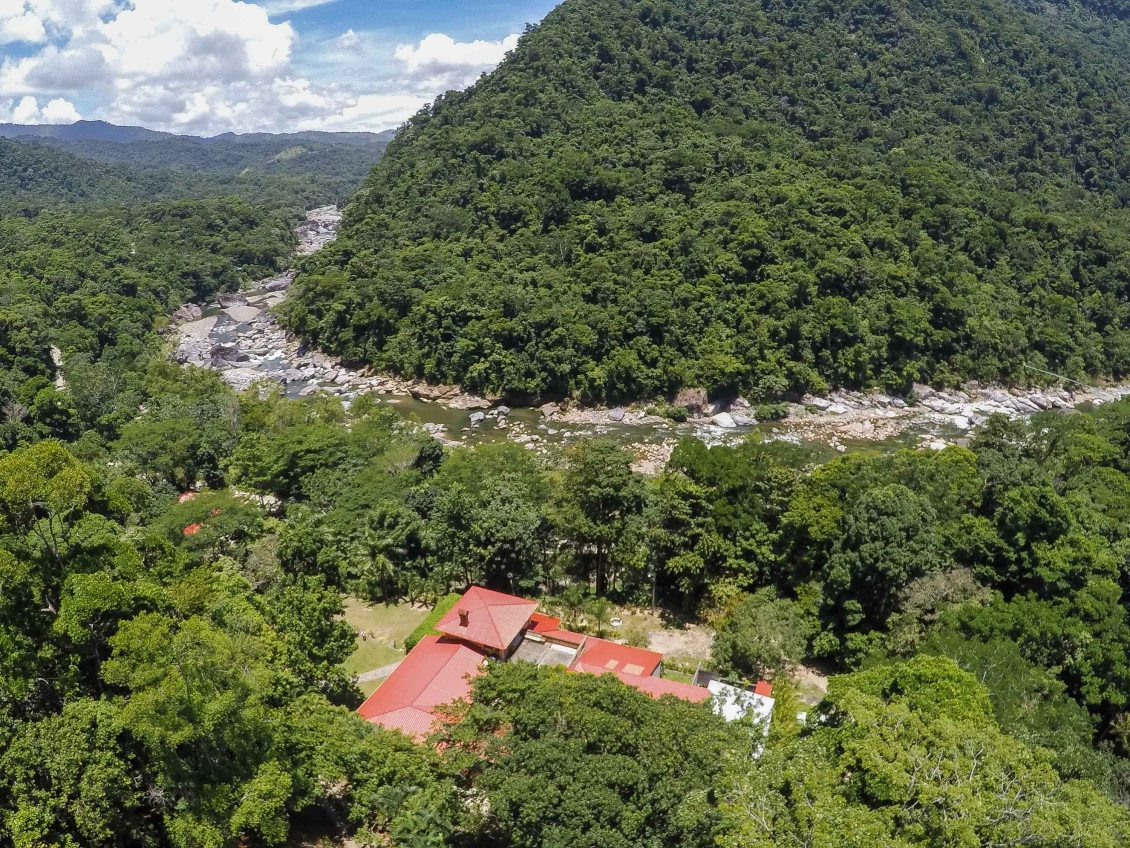 The spectacular Cangrejal River Valley