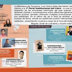 Feria Institucional del Libro Biblioteca del Congreso