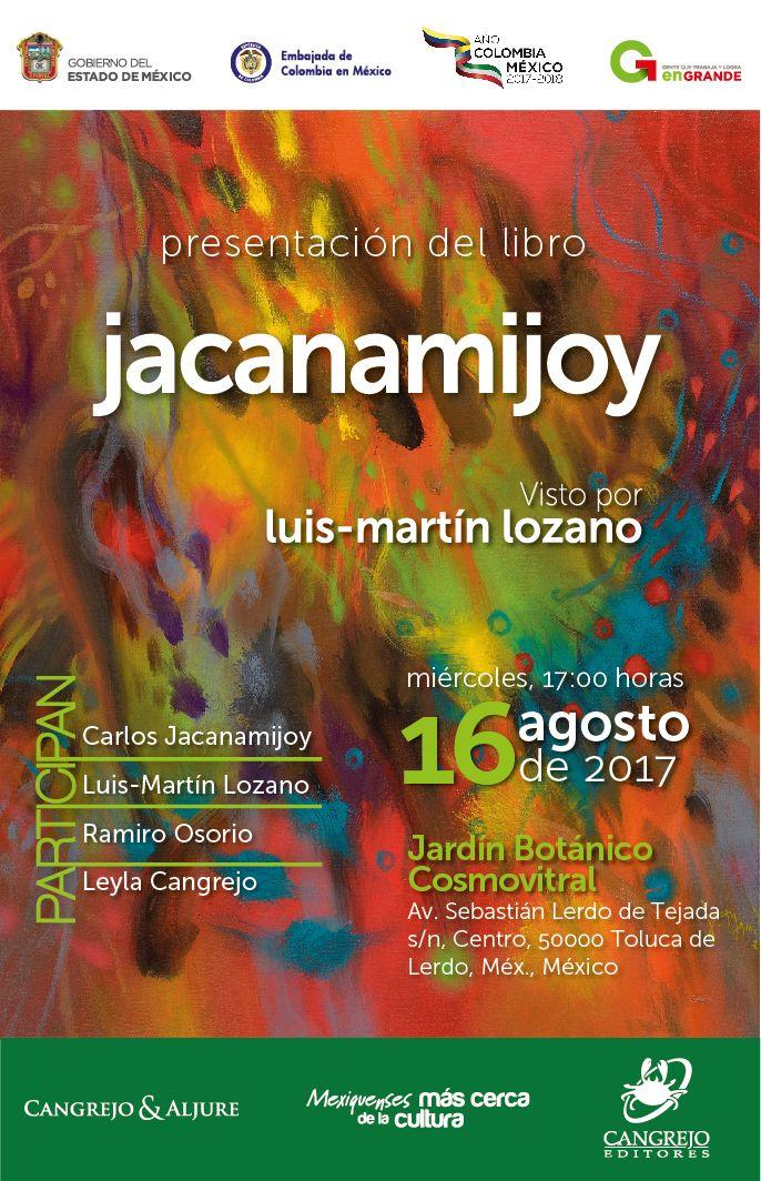 Presentación en Toluca del libro Jacanamijoy