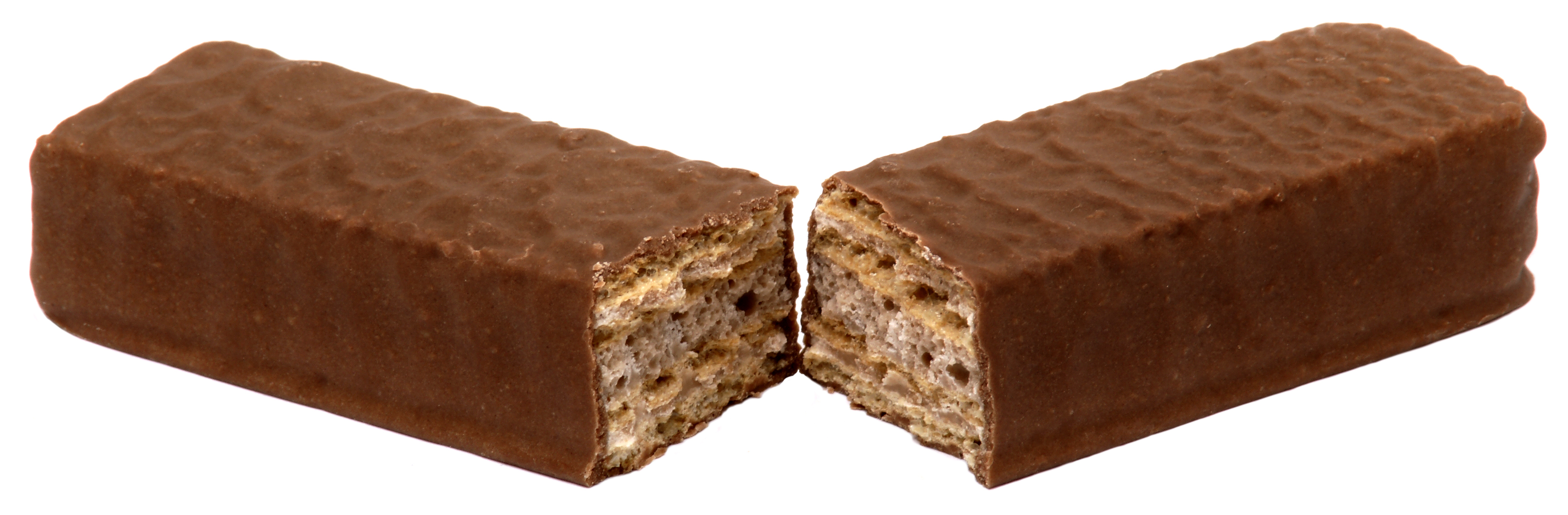 Coffee flavored chocolate bar
