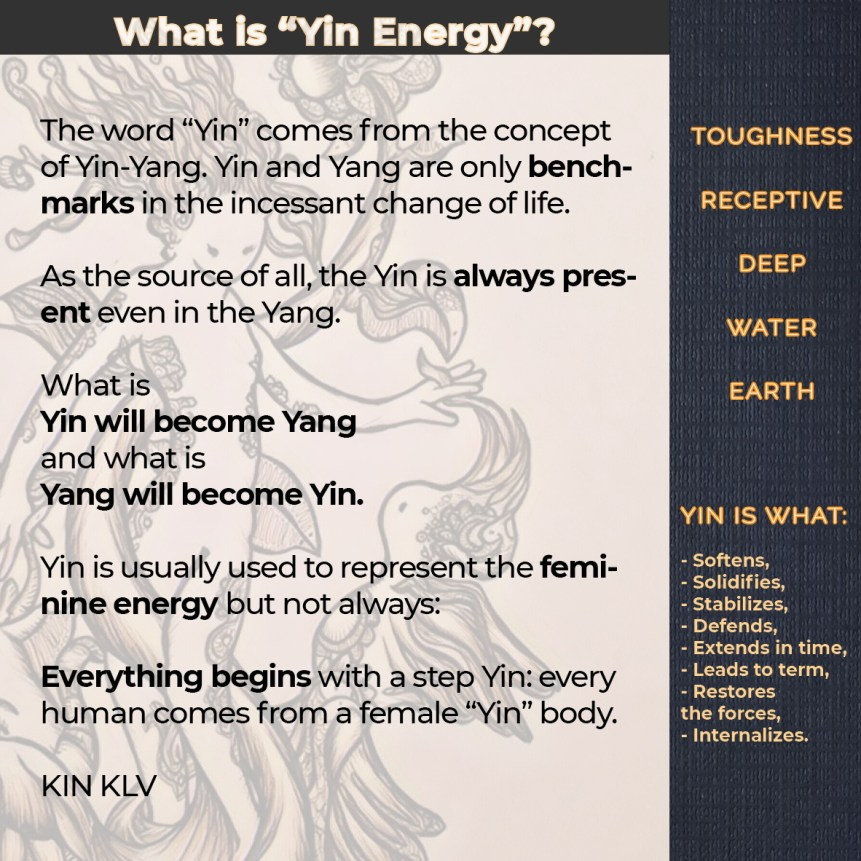 Yin Energy Can Humanity Change
