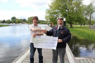 Cheque presentation to the RNLI