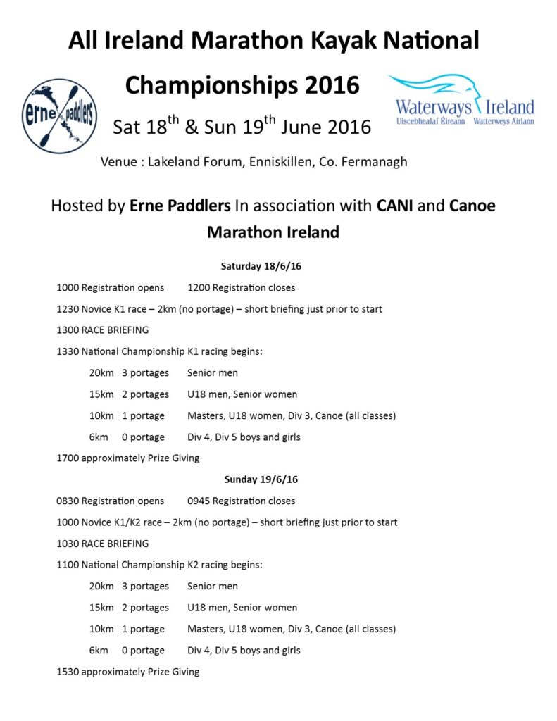 Irish National championships 2016 a