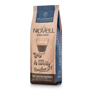 Novell Decaffeinato whole beans organic coffee