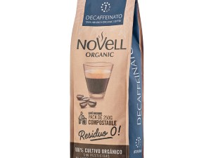 Novell Decaffeinato whole beans organic coffee