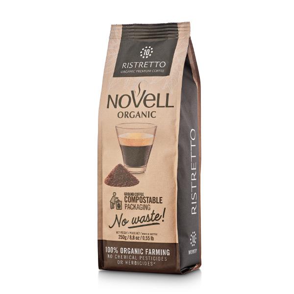 Novell Ristretto Ground organic coffee SKU0279