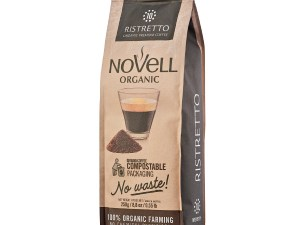Novell Ristretto Ground organic coffee SKU0279