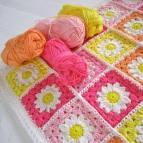 Tığ İşi Bebek Yeni Battaniye Modelleri (2)