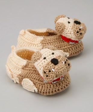Hayvan Figürlü Bebek Patik Modelleri