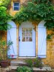 Rengarenk çiçekli kapı giriş tasarımları (13)