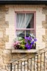 Rengarenk çiçekli kapı giriş tasarımları (19)