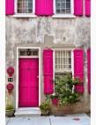 Rengarenk çiçekli kapı giriş tasarımları (21)