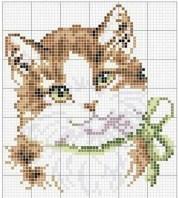 Kanaviçe Kedi (1)