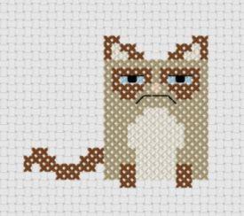 Kanaviçe Kedi (2)