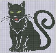 Kanaviçe Kedi (20)