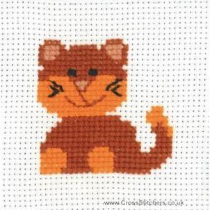 Kanaviçe Kedi (22)