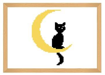 Kanaviçe Kedi (48)