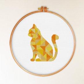 Kanaviçe Kedi (70)