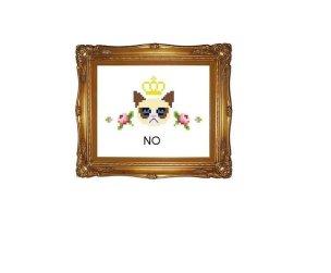 Kanaviçe Kedi (73)