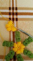 Çiçekli Lif Modeli Yapılışı (12)