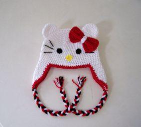 Hello Kitty bebek şapkası