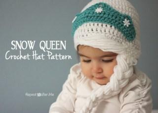 Elsa Örgü Bere Modeli Frozen Hat Crochet (18)