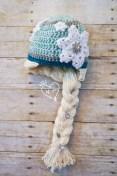Elsa Örgü Bere Modeli Frozen Hat Crochet (40)