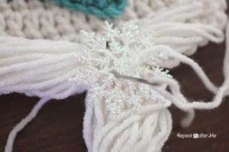 Elsa Örgü Bere Modeli Frozen Hat Crochet (7)